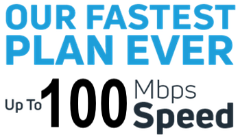 NEW! Unlimited Data Plans – Now With Speeds up to 100 Mbps